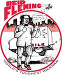 Reid Fleming, World's Toughest Milkman T-shirt #000.